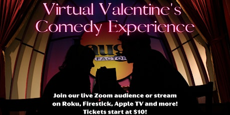 Virtual Valentine's Day Standup Comedy Experience tickets