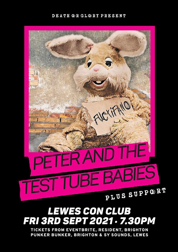 Peter and the Test Tube Babies at Lewes Con Club image