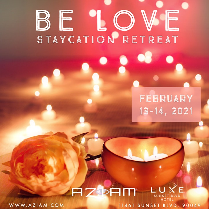 Valentine's Day Staycation Retreat: Be Love image