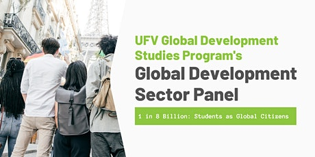 UFV Global Development Studies Program's Global Development Sector Panel tickets