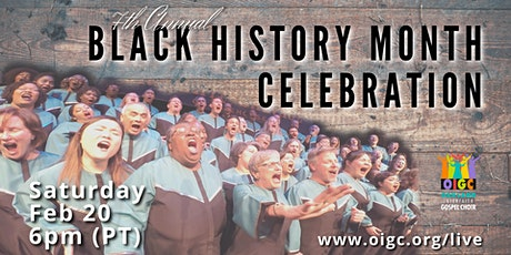 02/20: 7th Annual Black History Month Celebration tickets