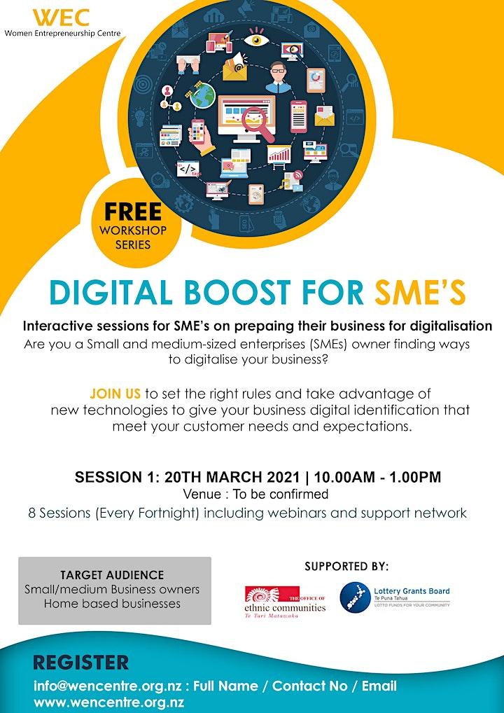 DIGITAL BOOST FOR SME's image