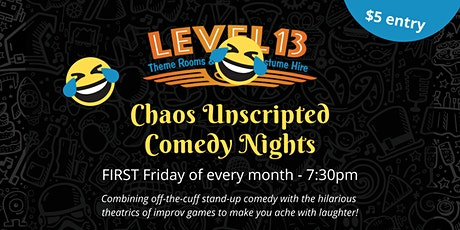Chaos Unscripted tickets