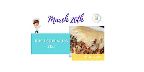 Kids (4-12) In-Person Cooking Class -  Irish Shephard's Pie  - PM tickets