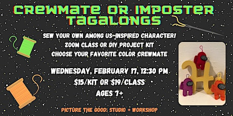 Crewmate or Imposter Tagalongs tickets