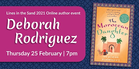 Lines in the Sand 2021 Online Author Event - Deborah Rodriguez tickets