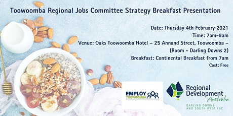 TRJC Strategy Breakfast Presentation tickets
