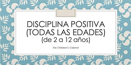 Disciplina Positiva (todas las edades) (de 2 a 12 años) entradas