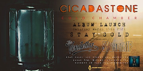 Cicadastone 'Cold Chamber' Album Launch tickets