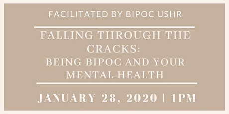 Falling through the cracks: Being BIPOC and your mental health tickets