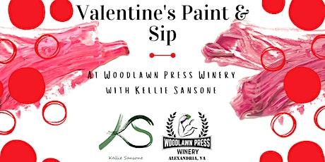 Valentine's Paint & Sip tickets