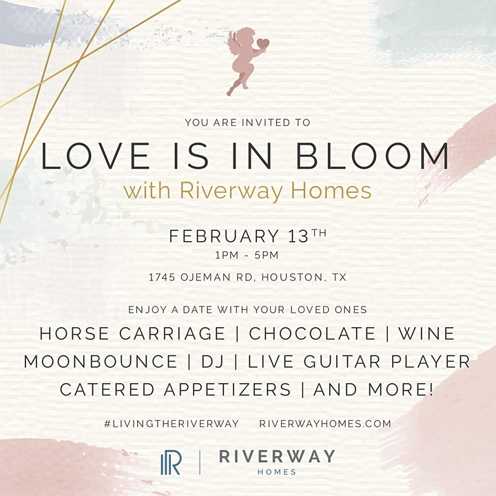 LOVE IS IN BLOOM WITH RIVERWAY HOMES image