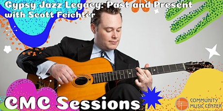 CMC Sessions: Gypsy Jazz Legacy: Past And Present tickets