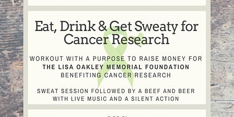 Eat, Drink & Get Sweaty For Cancer Research sponsored by HeyNoon Fitness tickets