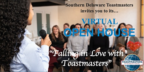 """""""Falling in Love with Toastmasters"""" Virtual Open House tickets"""
