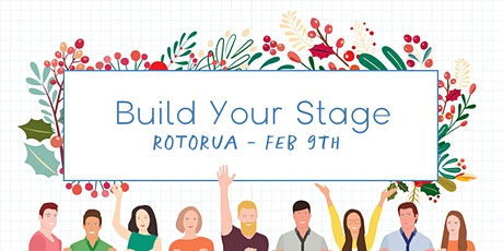Build Your Stage - Personal Brand Building for Your Business - Rotorua tickets