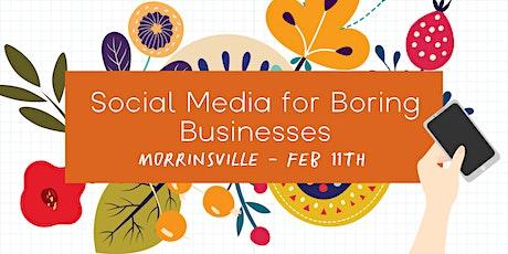 Social Media for Boring Businesses - Morrinsville tickets
