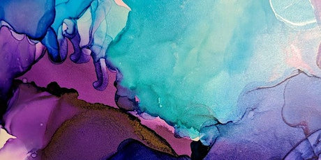 Creating Abstract Artwork with Alcohol Ink tickets