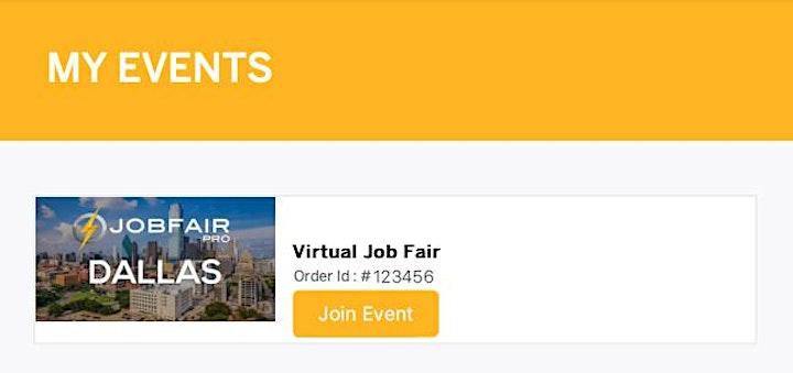 Austin Virtual Job Fair - July 15, 2021 Austin Career Fairs image