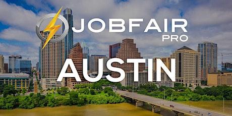 Austin Virtual Job Fair - April 29, 2021 Austin Career Fairs tickets