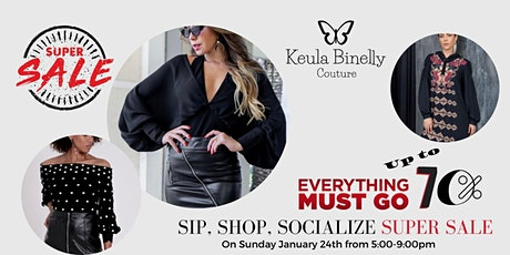 Sip, Shop, Socialize SUPER SALE tickets