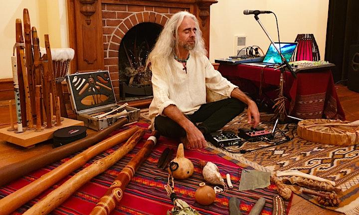 Online Shamanic Sound Journey Workshop image