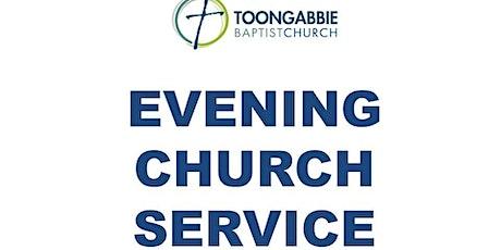 Evening Church Service - 5:30PM tickets