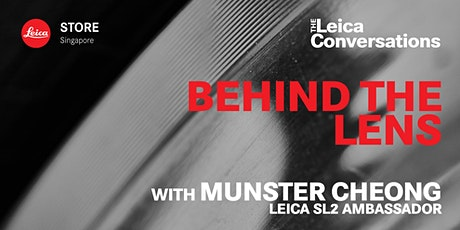 Leica Conversations: Behind the Lens with Munster Cheong tickets