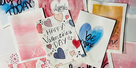 Valentines Watercolor Cards 2/13 at Thunder Brothers Brewing tickets