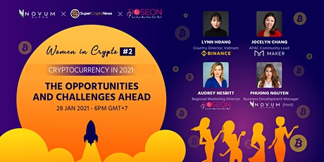 Women in Crypto #2: Cryptocurrency in 2021 - Opportunities and Challenges tickets