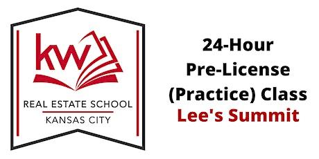 Missouri Real Estate 24-Hour Pre-License Evening Class (LS) tickets