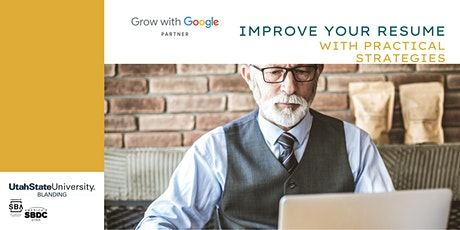 Grow with Google: Improve Your Resume with Practical Strategies tickets