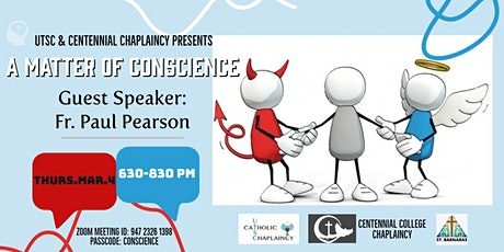 UTSC & Centennial  College Chaplaincy - Relevant Series - Talk 7 tickets