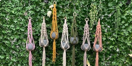 Macrame Hanging Baskets at Gumeracha tickets