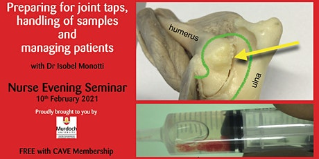 Joint taps: Preparation, sample handling + managing patients - For Nurses tickets