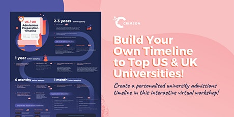 WORKSHOP: Build Your Own Timeline to a Top US or UK University! (SG) tickets
