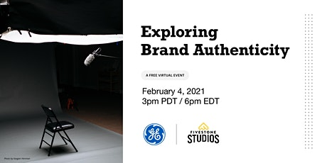 GE presents: Exploring Brand Authenticity tickets