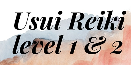 Usui Reiki Level 1 &  2  instruction and attunement w/Reina Prado (March) tickets