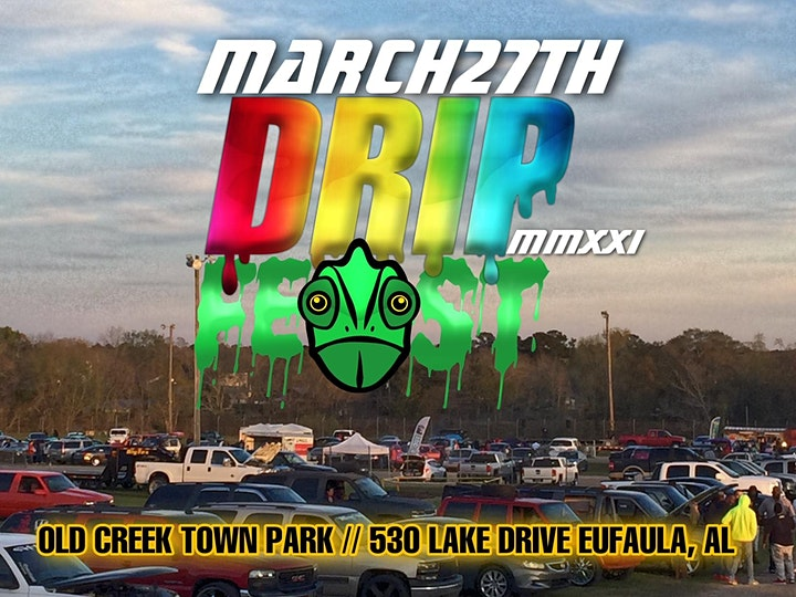 DRIPFEST MMXXI 2021 BIGGEST CAR SHOW AND 3X AUDIO SHOW AT CREEK TOWN PARK! image