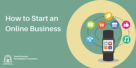 How to Start an Online Business tickets