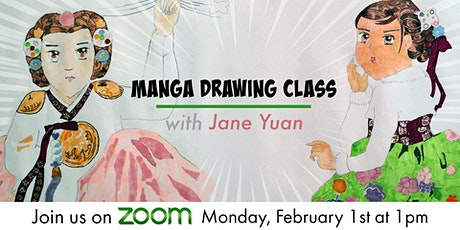 Manga Drawing Class For Youth tickets