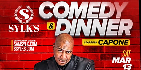Comedy & Dinner Starring Comedian Capone tickets