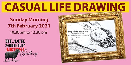 Sunday Morning Casual Life Drawing tickets