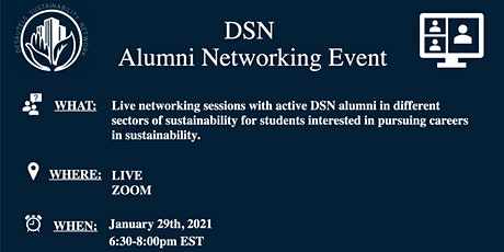 DSN Alumni Networking Session tickets