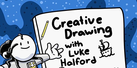 Creative drawing with Luke Halford tickets