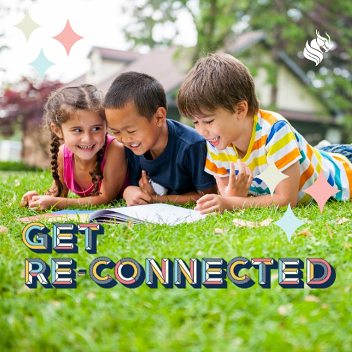 Get Re-Connected with Storytime in the Park : Olds Park, Penshurst image