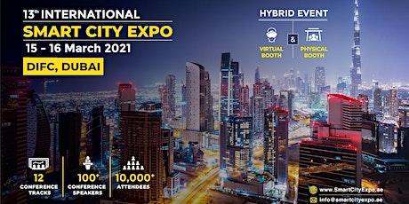 13th International Smart City Expo 2021, Dubai - Awards tickets