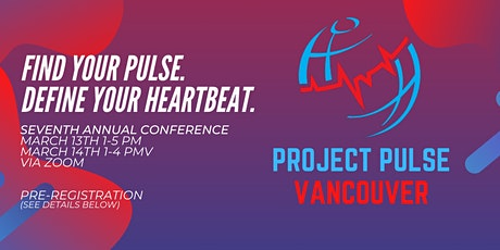 Project Pulse Vancouver 2021 Annual Conference PRE-REGISTRATION tickets