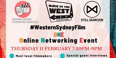 #WesternSydneyFilm Online Networking Event tickets