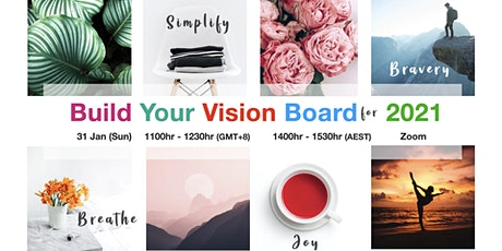 Build Your Vision Board For 2021 tickets